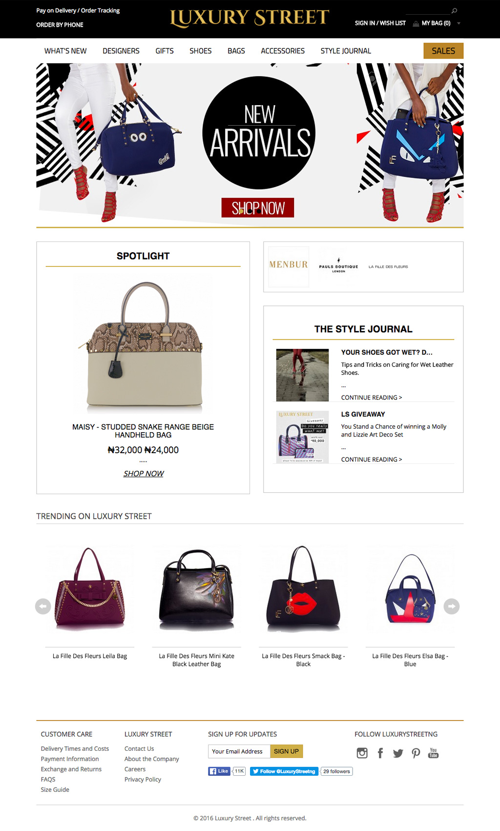luxury-street-ecommerce-website