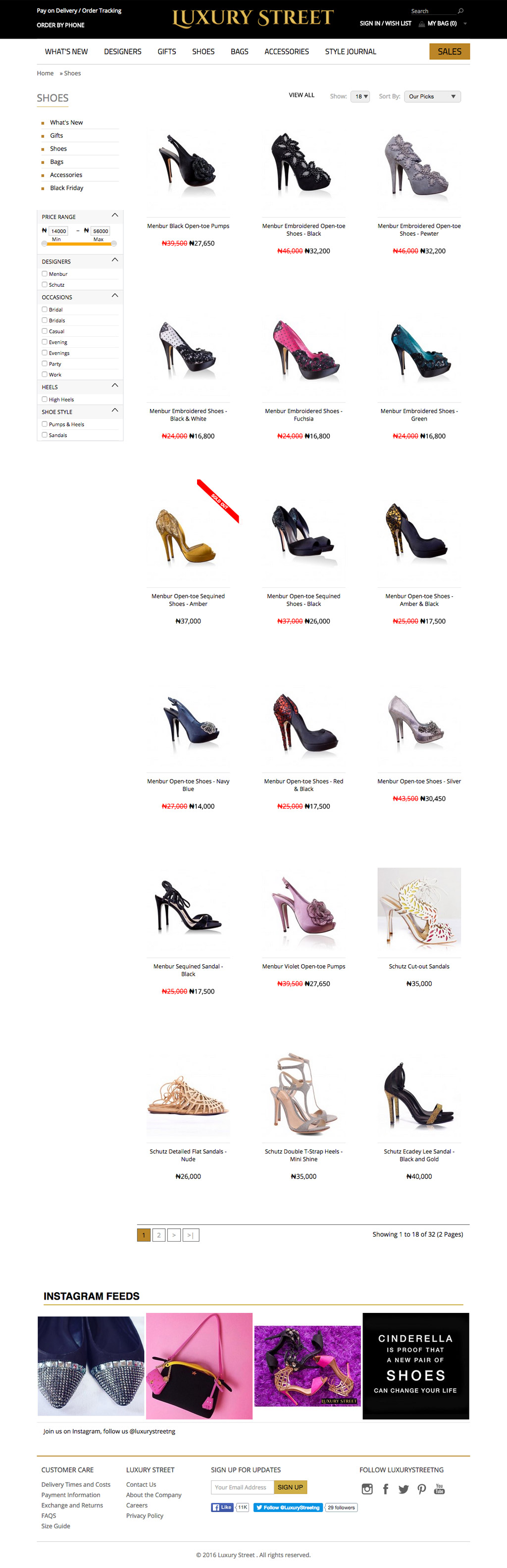 luxury-street-ecommerce-website-category-page