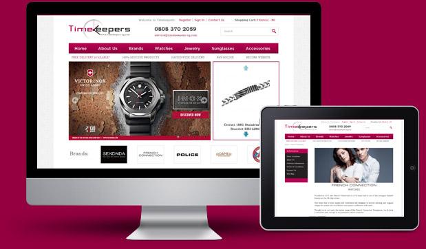 timekeepers-ecommerce-responsive-website-development-lagos