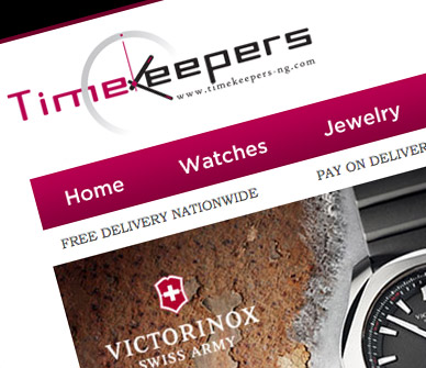 timekeepers-nigeria-ecommerce-website-development