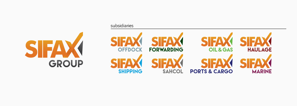 SIFAX Group Logo Development