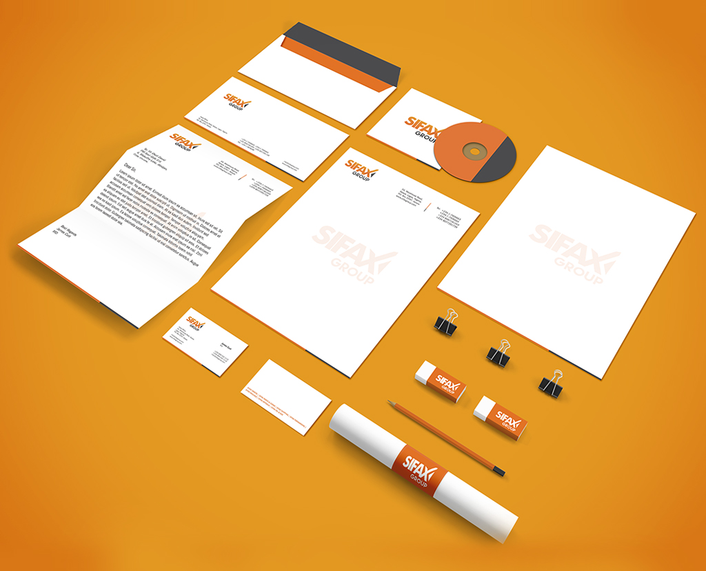 SIFAX Group Collateral Design