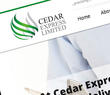 cedar-express-corporate-website-design