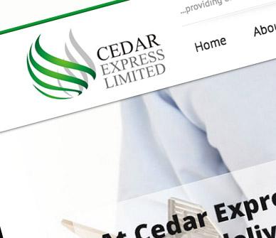 cedar-express-corporate-website-design