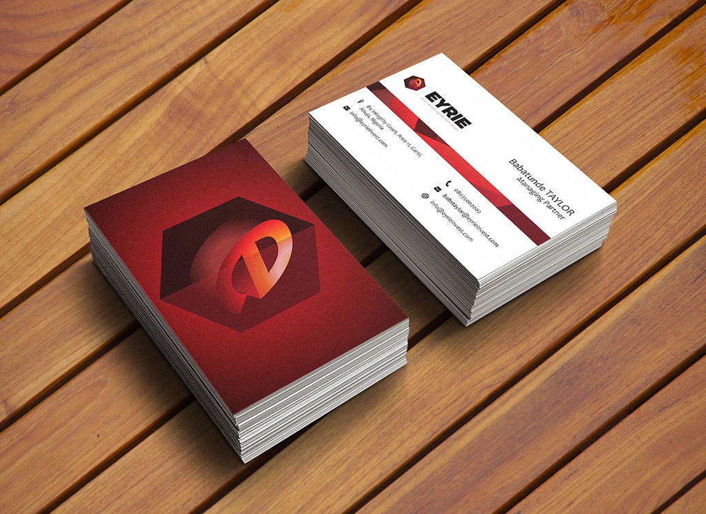 eyrie-group-business-card-design-lagos