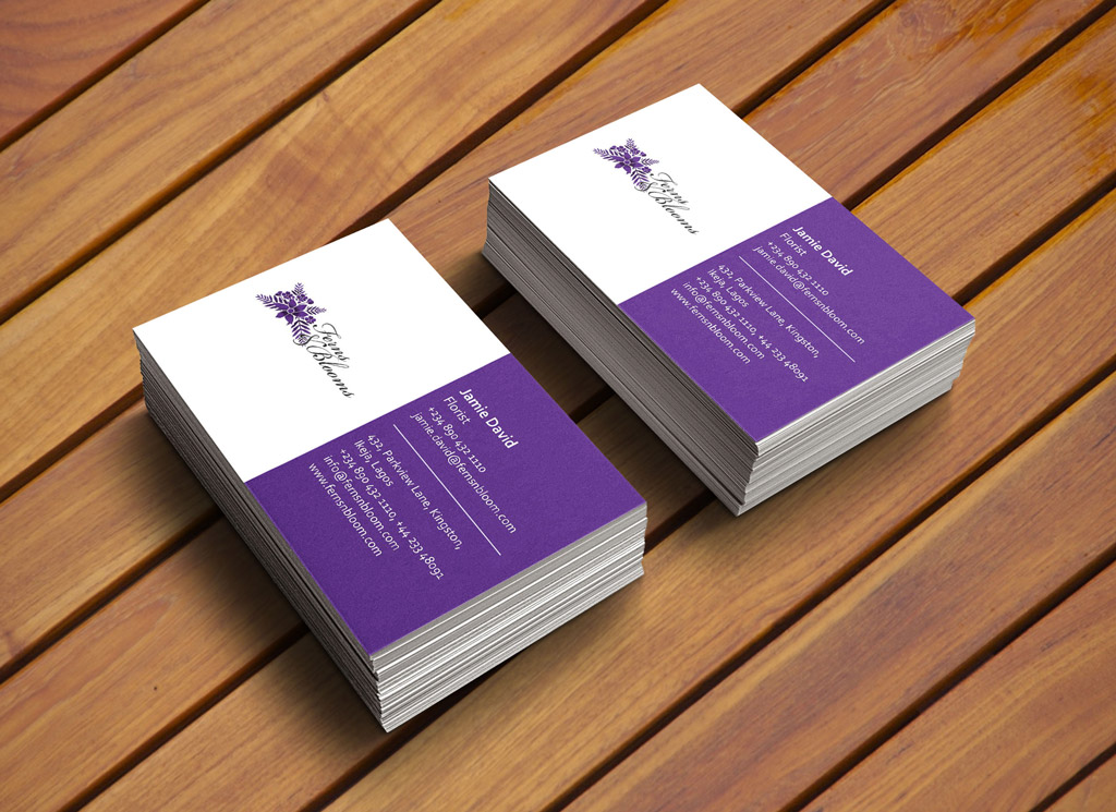ferns-and-blooms-business-card-design-lagos