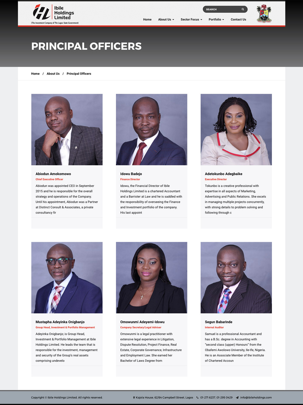 ibile-holdings-website-design-nigeria