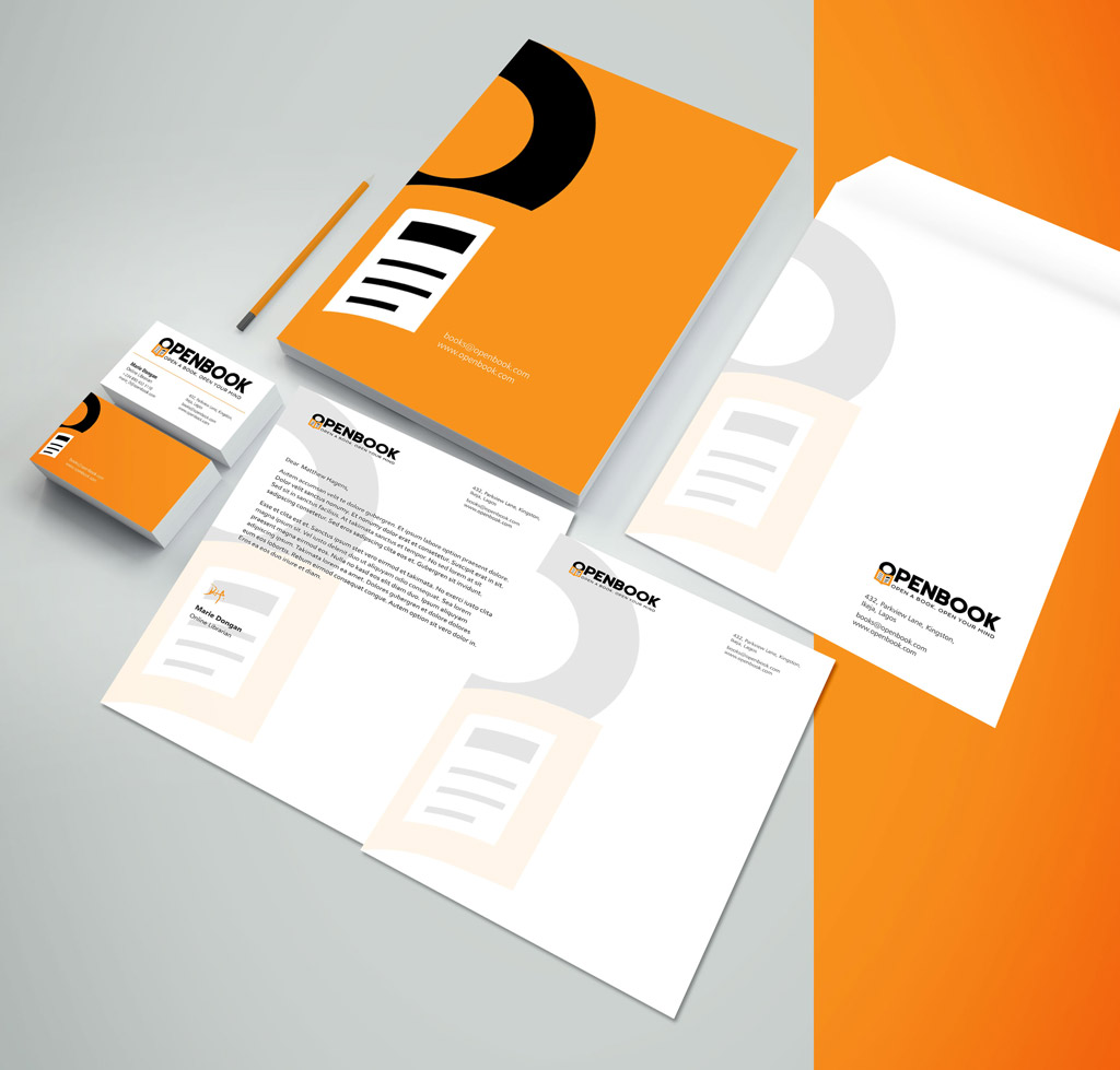 openbook-stationary-designer