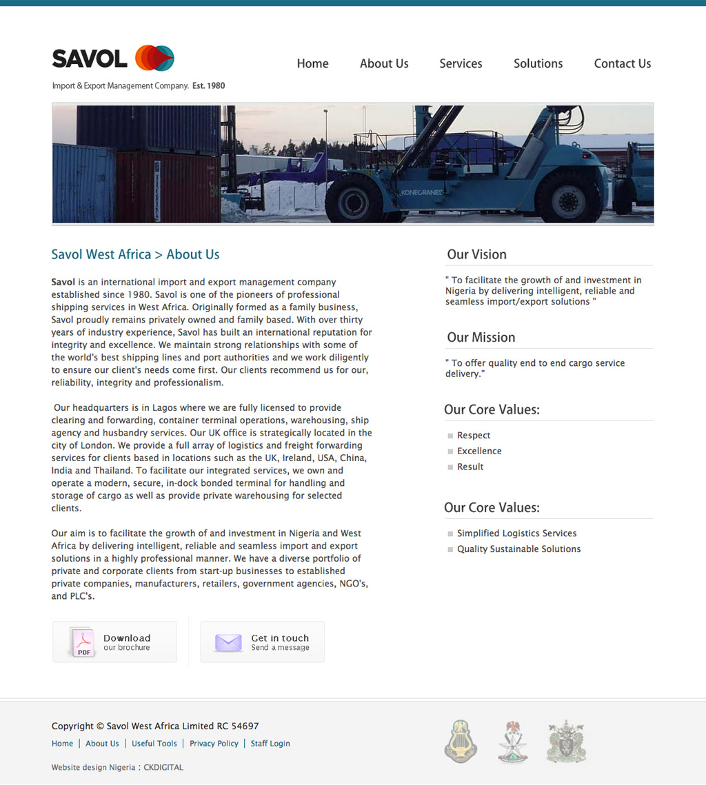 savol-west-africa-website-design-about-page