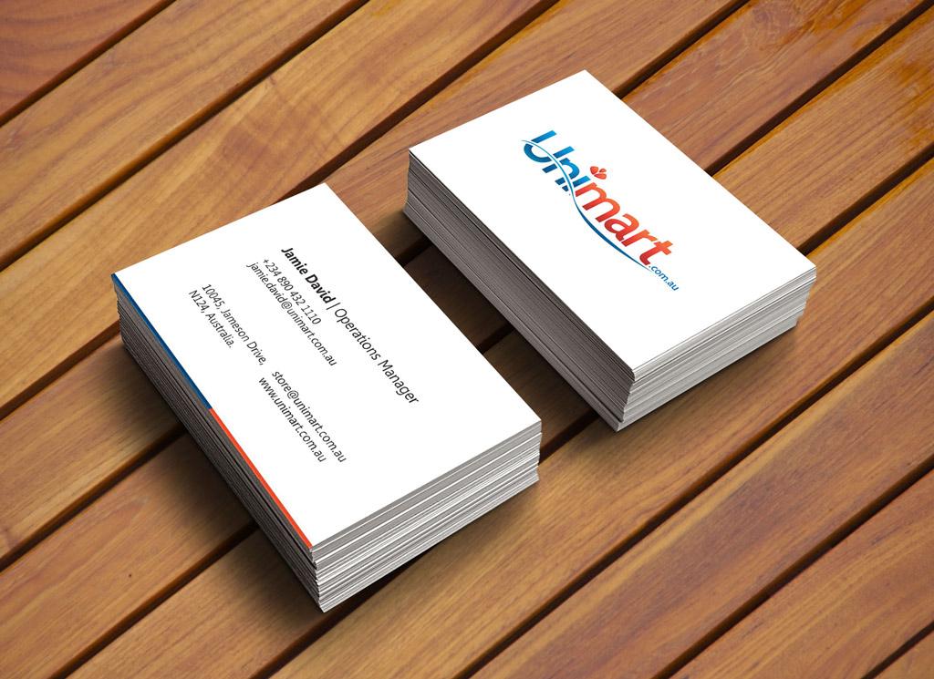 unimart-business-card-design