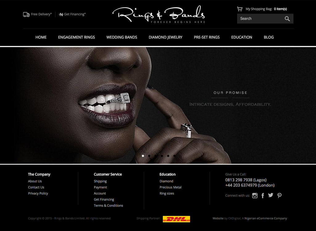 rings-and-bands-ecommerce-website-development