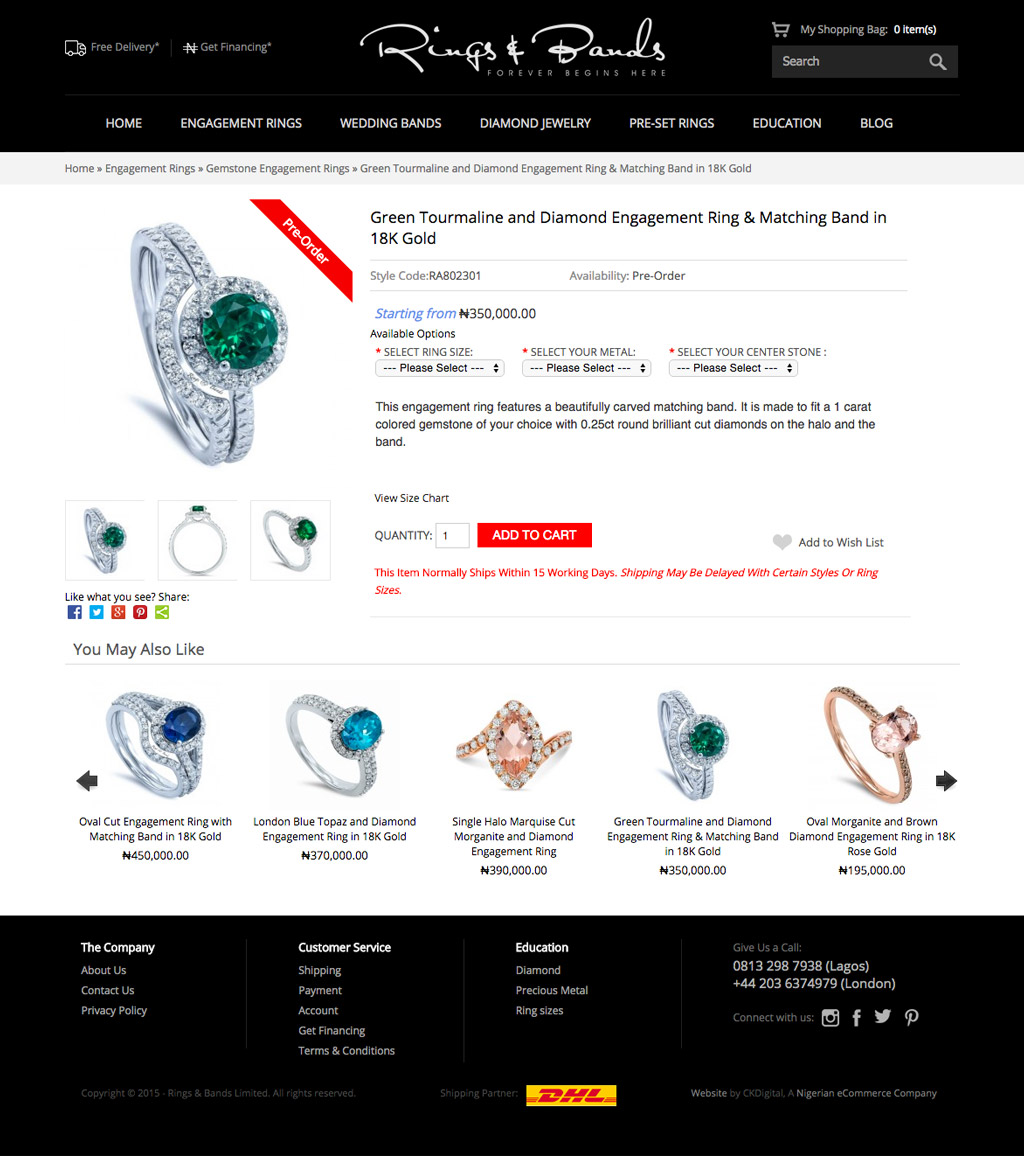 rings-and-bands-ecommerce-website-development-nigeria