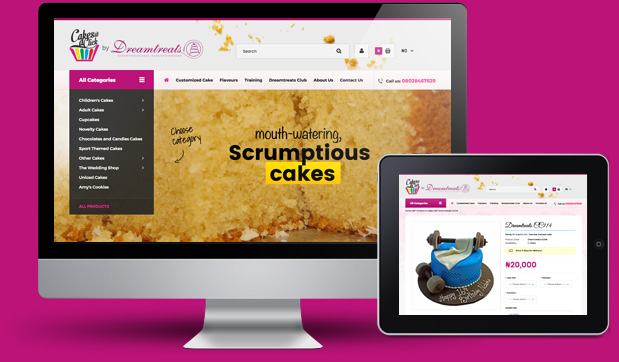 dreamtreats-web-design-showcase
