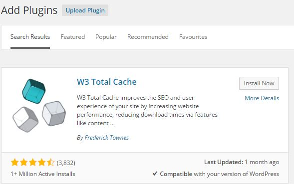 Best cache plugin for wordpress blogs