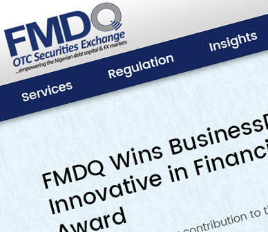 fmdq otc website design