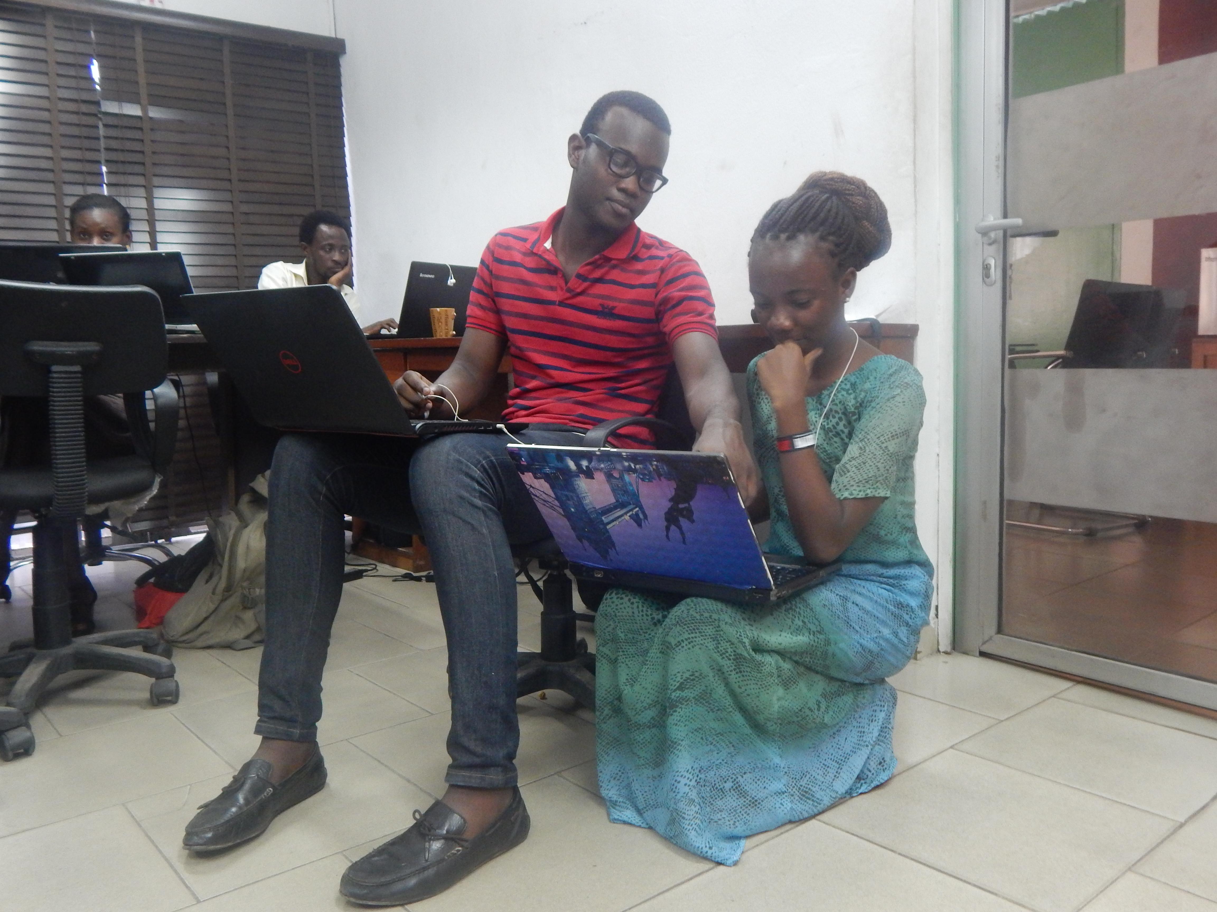 Onyeka Mmakwe and Seun Quadri