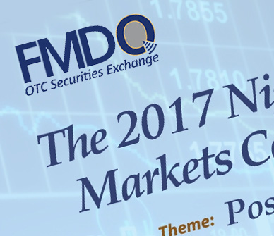 FMDQ Debt Capital Market Conference & Awards Website Design