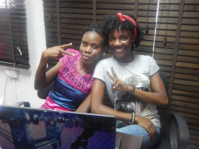 Seun Quadri and Busayo Alese