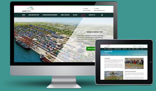 Lekki-Port-web-design-showcase