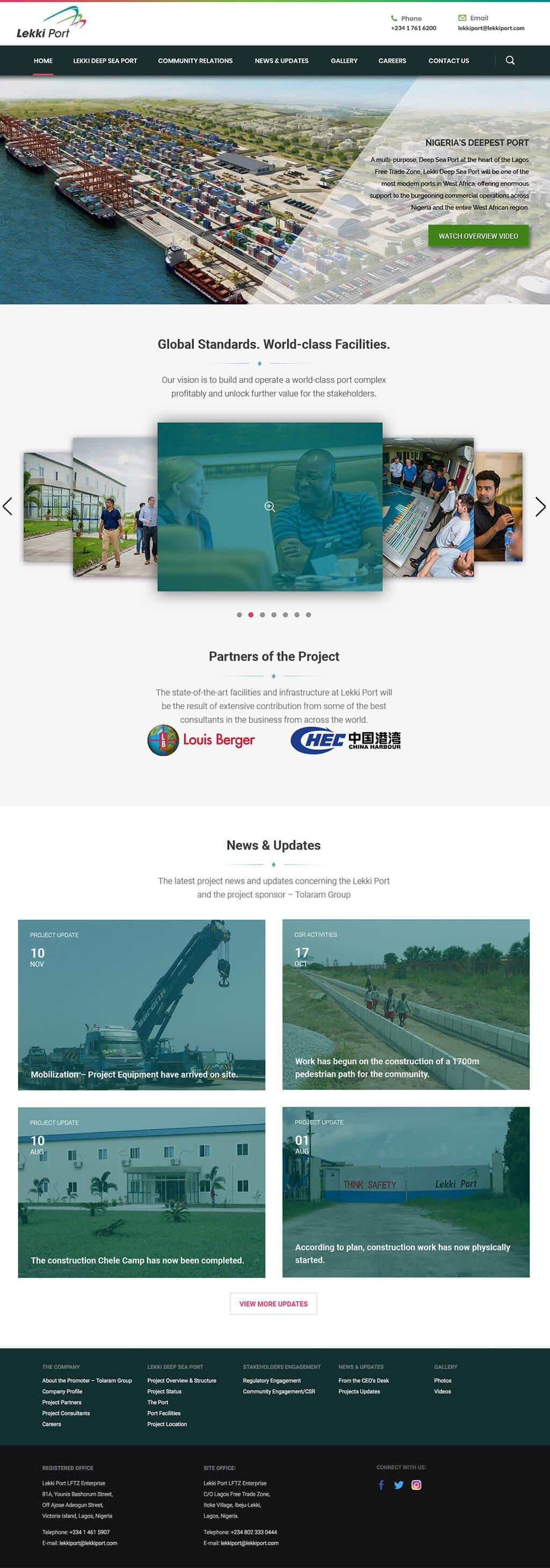 Lekki-Port-website-design-project-page-1