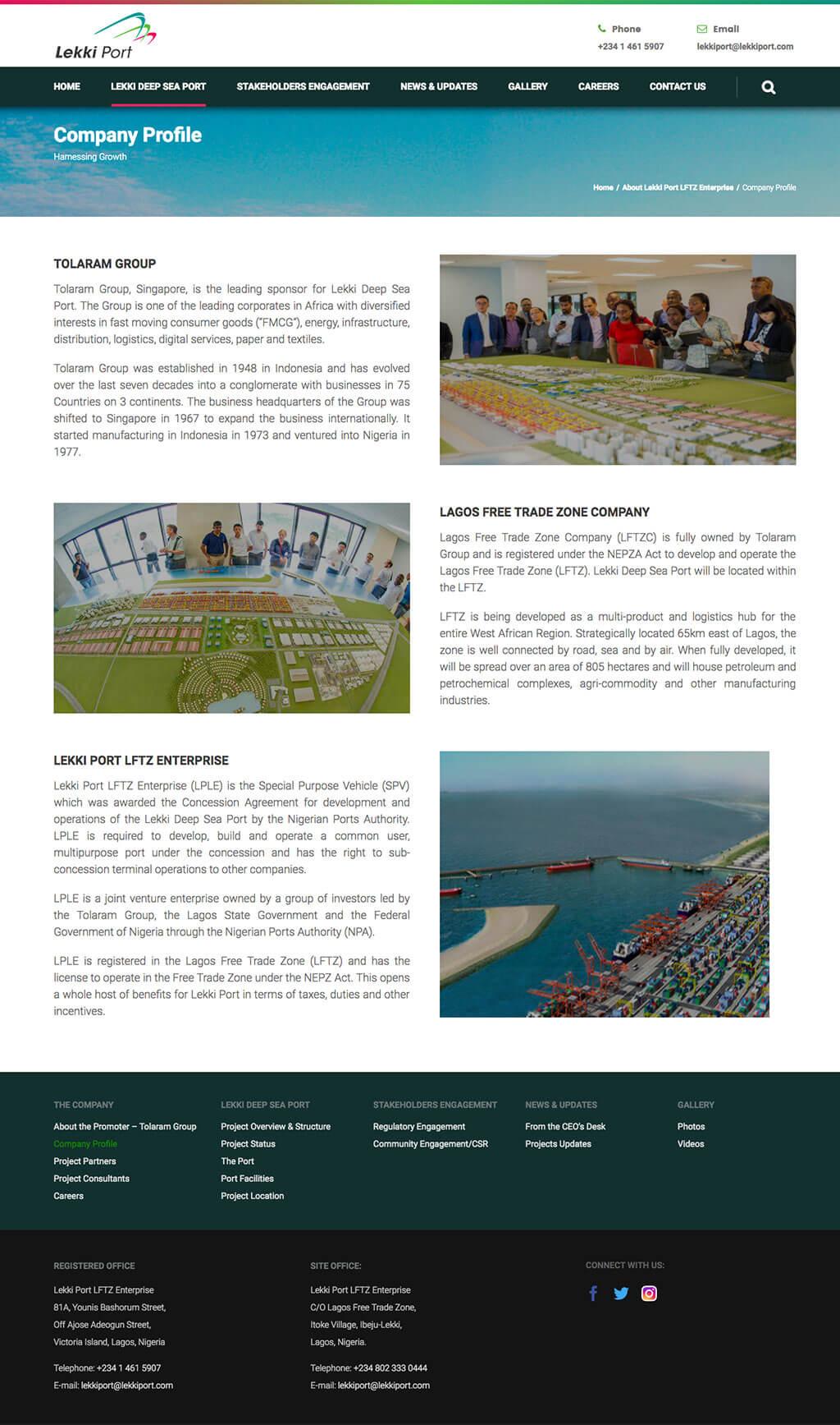Lekki-port-website-design-project-page-2