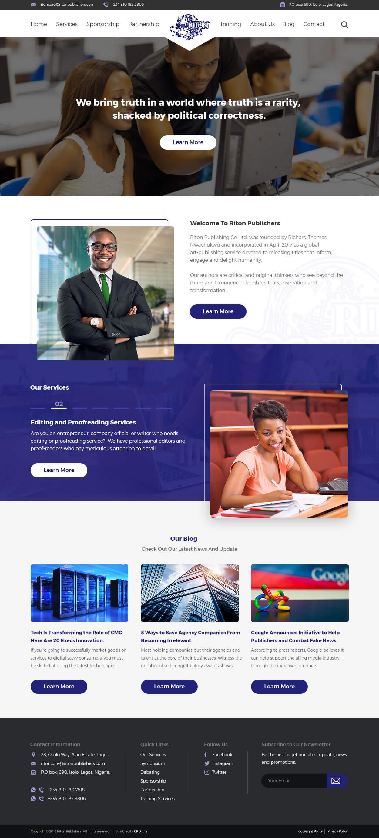 riton-publisher-web-design-project-page-1